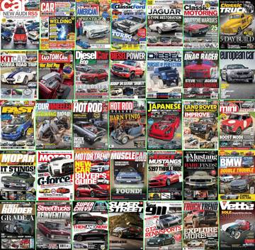 Download Automobile Magazines - July 22 2017 (True PDF) Torrent