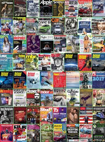 Download Assorted Magazines - July 1 2017 (True PDF) Torrent